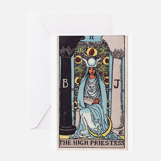 """The High Priestess"" Greeting Card"