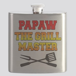 Papaw The Grill Master Drinkware Flask