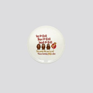 105th Birthday Party Gift Mini Button