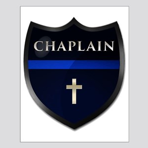Police Chaplain Shield Posters Small Poster