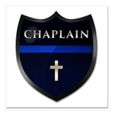 Chaplain Square Car Magnets
