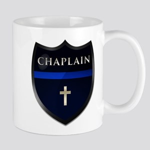 Police Chaplain Shield Mugs