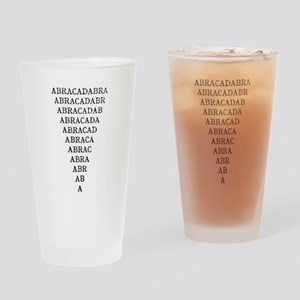 abracadabra Drinking Glass