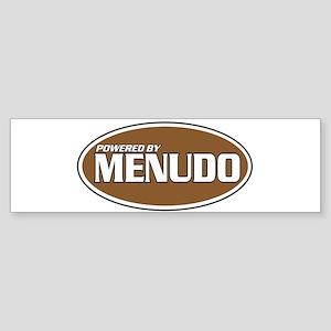Powered By Menudo Bumper Sticker