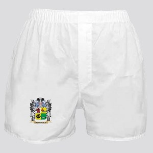 Mcdonald- Coat of Arms - Family Crest Boxer Shorts