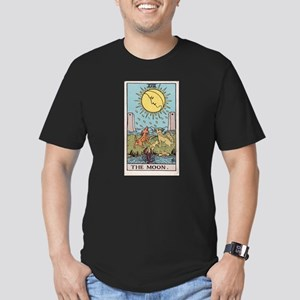 """The Moon"" Men's Fitted T-Shirt (dark)"