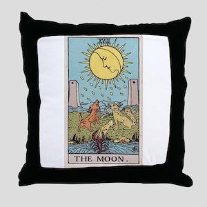 """The Moon"" Throw Pillow"