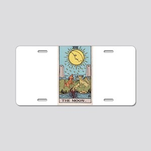 """The Moon"" Aluminum License Plate"