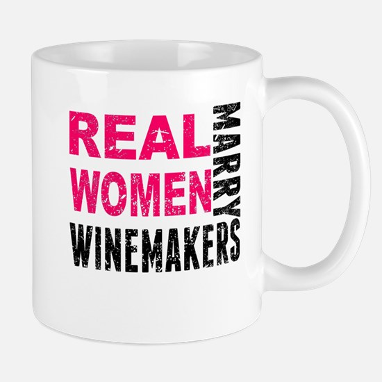 Real Women Marry Winemakers Mugs