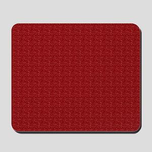 Solid Maroon Mousepad