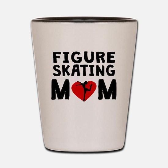 Figure Skating Mom Shot Glass