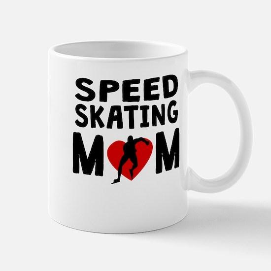 Speed Skating Mom Mugs