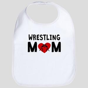 Wrestling Mom Bib