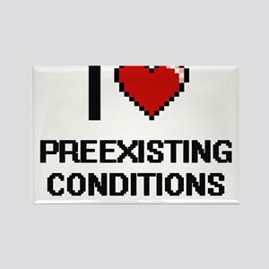 I Love Preexisting Conditions Digital Desi Magnets