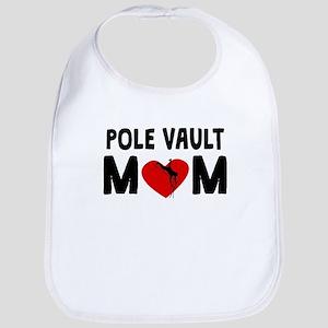 Pole Vault Mom Bib