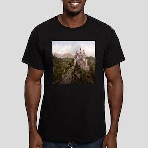 NEUSCHWANSTEIN CASTLE Men's Fitted T-Shirt (dark)