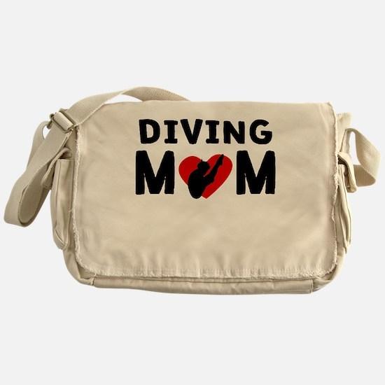 Diving Mom Messenger Bag
