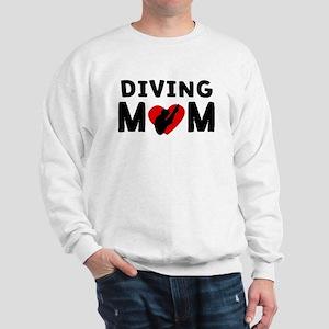 Diving Mom Sweatshirt
