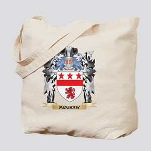 Mcgraw Coat of Arms - Family Crest Tote Bag