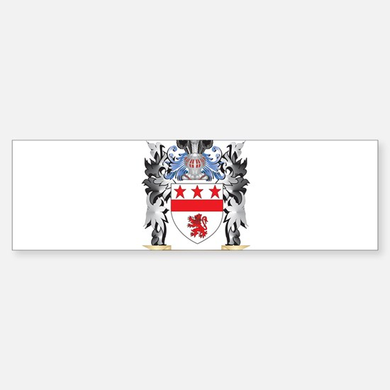 Mcgraw Coat of Arms - Family Crest Bumper Bumper Bumper Sticker