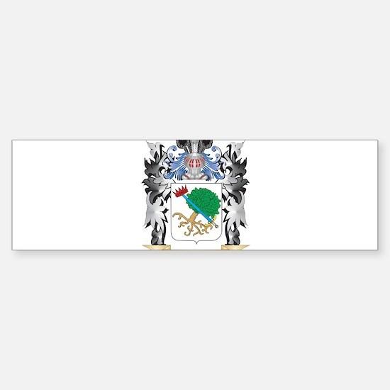 Mcgregor Coat of Arms - Family Cres Bumper Bumper Bumper Sticker
