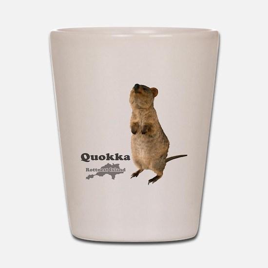 Quokka v.3 Shot Glass