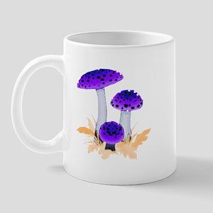 Purple Mushrooms Mug