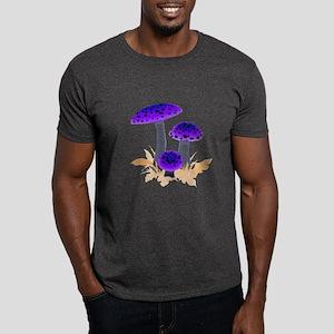 Purple Mushrooms Dark T-Shirt