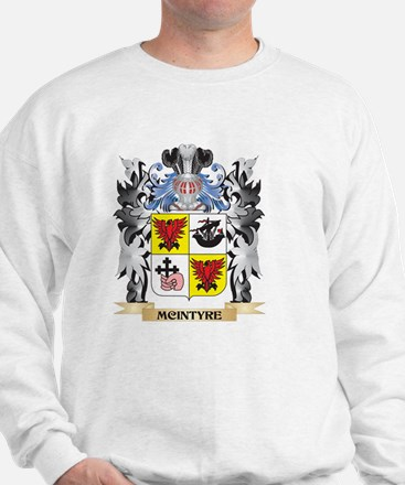 Mcintyre Coat of Arms - Family Crest Sweatshirt