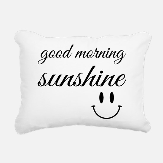 Good Morning Sunshine Rectangular Canvas Pillow