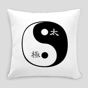 Tai Chi Yin Yang Symbol Everyday Pillow