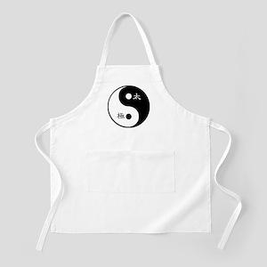 Tai Chi Yin Yang Symbol Apron