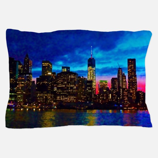 REFLECTIONS OF THE CITY Pillow Case