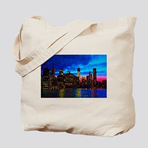 REFLECTIONS OF THE CITY Tote Bag
