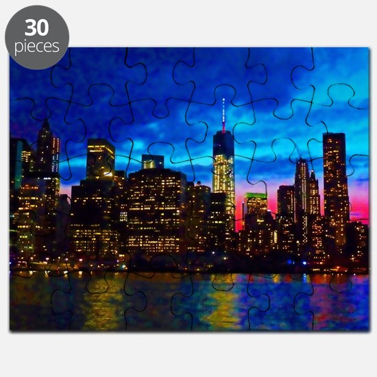 REFLECTIONS OF THE CITY Puzzle