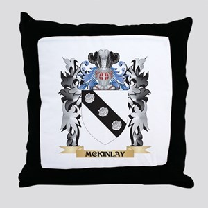 Mckinlay Coat of Arms - Family Crest Throw Pillow
