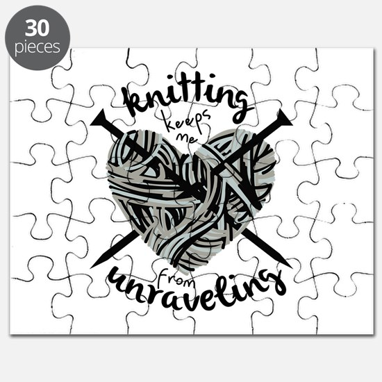 Knitting Unraveling Puzzle