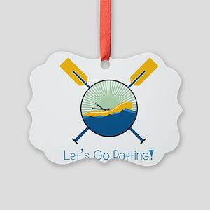 Go Rafting Ornament