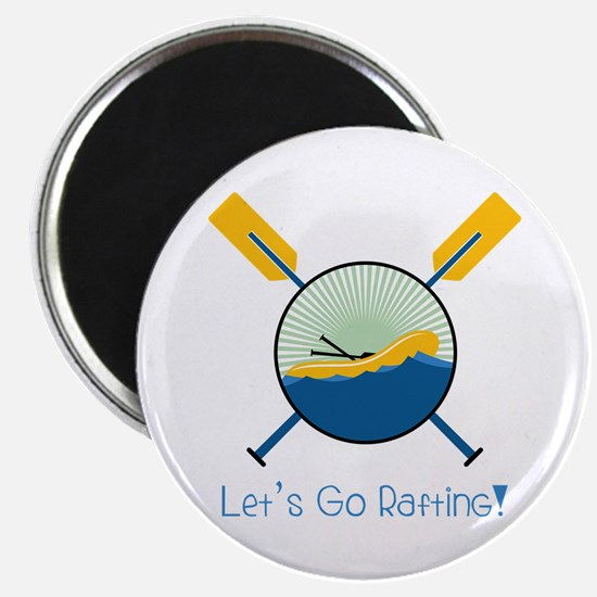 Go Rafting Magnets