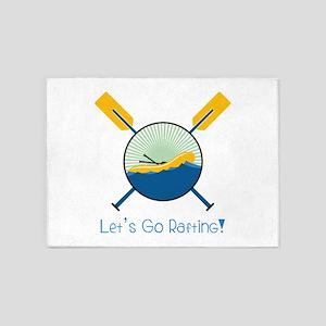 Go Rafting 5'x7'Area Rug