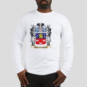 Mclaughlin Coat of Arms - Fami Long Sleeve T-Shirt
