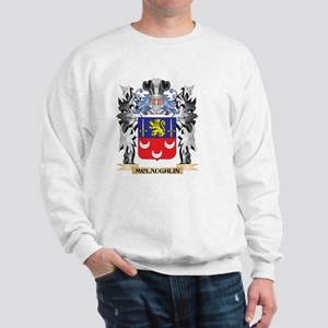 Mclaughlin Coat of Arms - Family Crest Sweatshirt