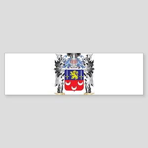 Mclaughlin Coat of Arms - Family Cr Bumper Sticker