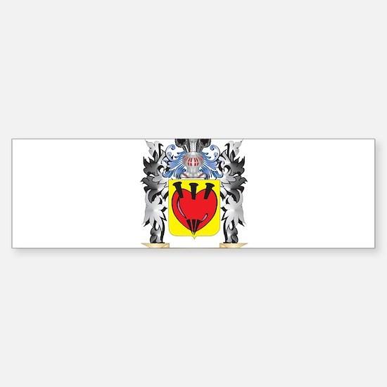 Mclennan Coat of Arms - Family Cres Bumper Bumper Bumper Sticker