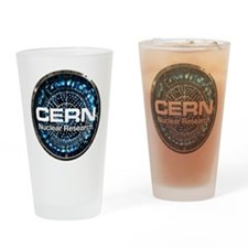 CERN Nuclear Research Drinking Glass