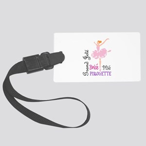 BALLET TERMS Luggage Tag