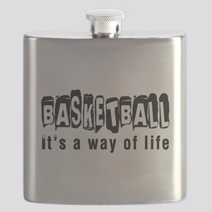 Basketball it is a way of life Flask