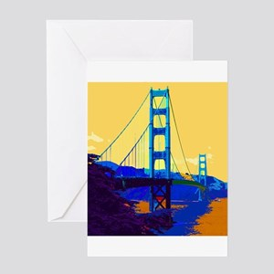 GoldenGateBridge013 Greeting Cards