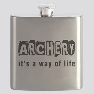 Archery it is a way of life Flask