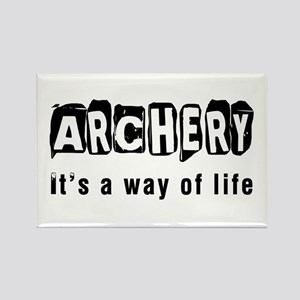 Archery it is a way of life Rectangle Magnet